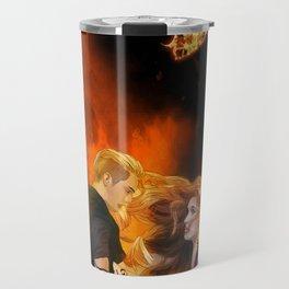 Clace heavenly fire Travel Mug