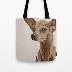 Macy the Chihuahua Dog Tote Bag