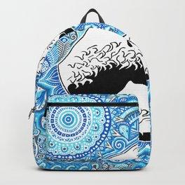 Kanagawa's wave Backpack
