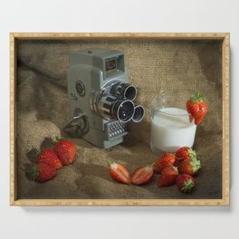 Sekonic and Strawberries Serving Tray