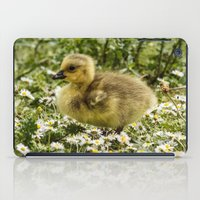 ryan gosling iPad Cases featuring Fluffy Gosling by inkedsandra