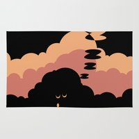 cloud Area & Throw Rugs featuring Cloud by Herber Crispin
