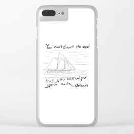 Adjust Your Sails Clear iPhone Case