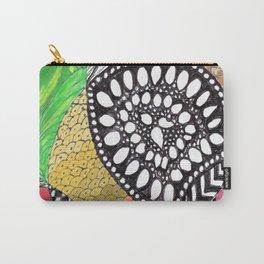 Zen Doodle zz04 - color Carry-All Pouch