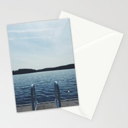 summer // dive in Stationery Cards