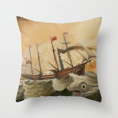 Great Western Throw Pillow