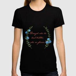 """Though she be but little"" Art Print T-shirt"