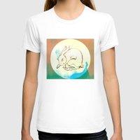 rabbit T-shirts featuring Rabbit by Danielle Summerfeldt