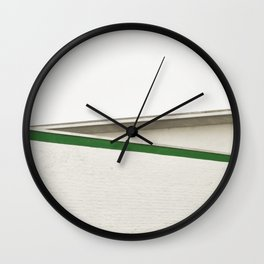 green architecture Wall Clock