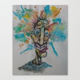 The Cosmic Derp Canvas Print