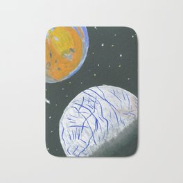 Europa and Io Bath Mat
