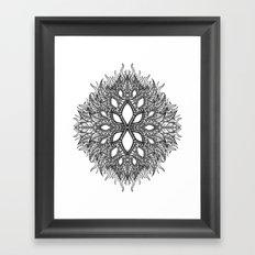 plant Framed Art Print
