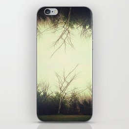 Green trees.  iPhone Skin
