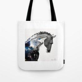 Horse (Trotter Portrait) Tote Bag