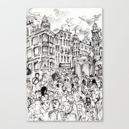 Prenzlauer Berg (Berlin) Canvas Print