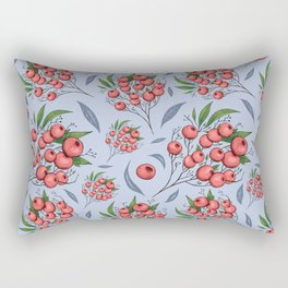 Red cranberry Rectangular Pillow