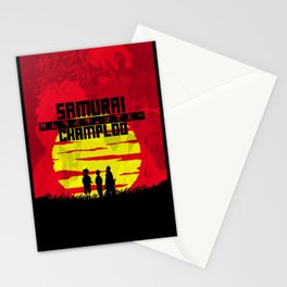 Crack Of Samurai Champloo Stationery Cards