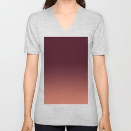 Gradation, Monochrome, Color Mood Unisex V-Neck