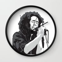 marley Wall Clocks featuring Marley Music by Mark Lucas