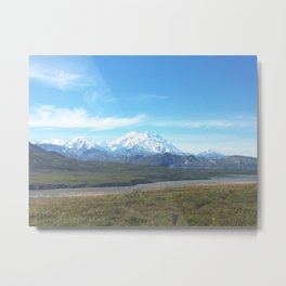 Denali the Great One Metal Print