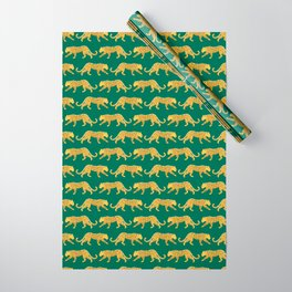 The New Animal Print - Emerald Wrapping Paper