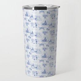 Winnipeg Summer Toile Travel Mug