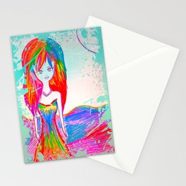 A Free Spirit is just an Old Soul with All Its Karma Paid ... Needing to Prove Nothing. Stationery Cards