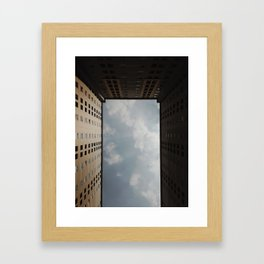 Sky Door Framed Art Print
