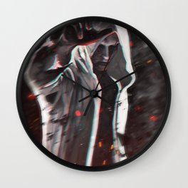 There is a fire inside of this heart Wall Clock