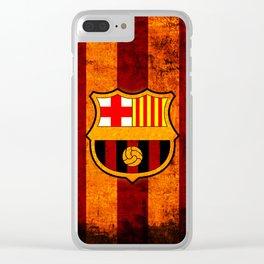 football team catalunya Clear iPhone Case