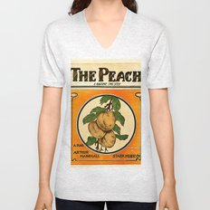 The Peach. A Ragtime Two Step Unisex V-Neck