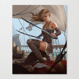 Pirate Blade Master Canvas Print
