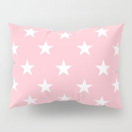 Stars (White/Pink) Pillow Sham