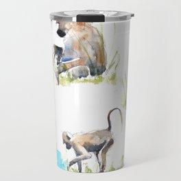 Baboon life Travel Mug