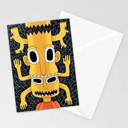 Cartoon Totem Stationery Cards
