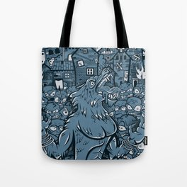 WOLVES OF PERIGORD Tote Bag