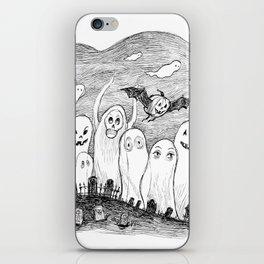 Halloween Ghosts iPhone Skin