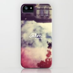 Keep Calm & Carry On Slim Case iPhone (5, 5s)