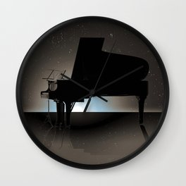 Cosmic Composer Wall Clock