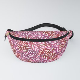 I don't need to improve - Pink and red Fanny Pack