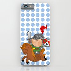 little knight with his horse iPhone 6s Slim Case