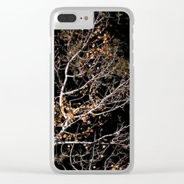 Golden Coins Clear iPhone Case