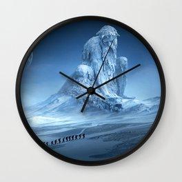 Human Wanderer Wall Clock