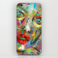 archan nair iPhone & iPod Skins featuring Ultraviolet Drops by Archan Nair