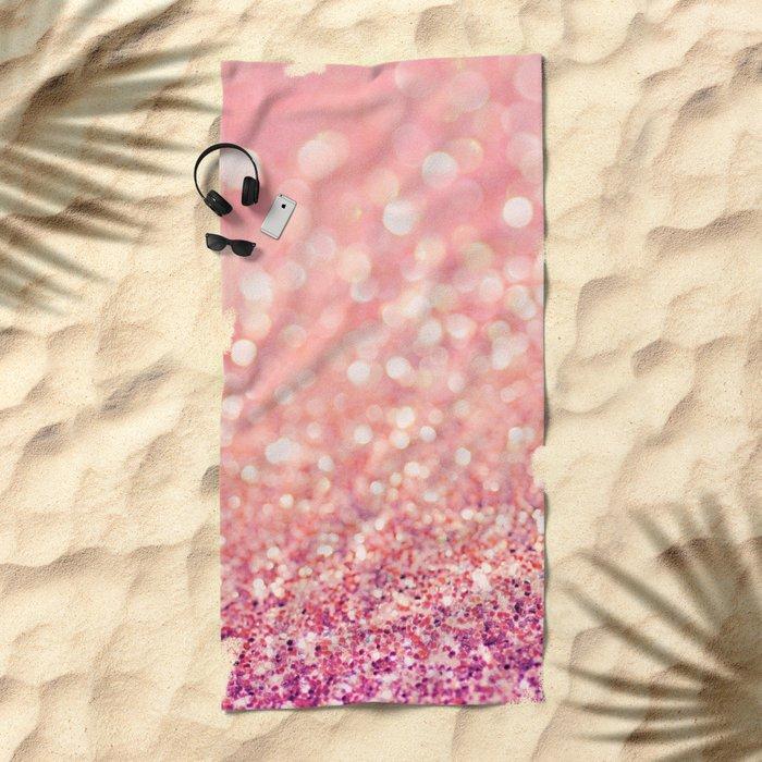 Blush Deeply Beach Towel