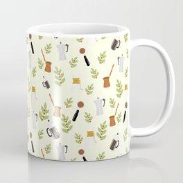 brewing pattern Coffee Mug