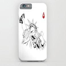 freedom...black & white iPhone 6s Slim Case