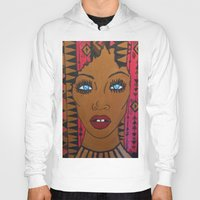 dwight schrute Hoodies featuring Bre by Justice Dwight X Ian Ibiza by Justice Dwight