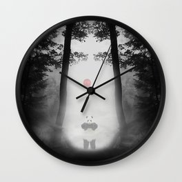 DARKNESS FOREST Wall Clock