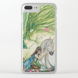 Daydreams Clear iPhone Case